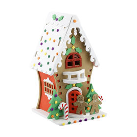 Make Your Own Foam Gingerbread House