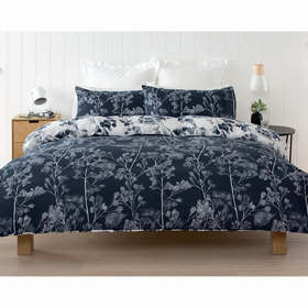 Dappled Leaf Quilt Cover Set - Double Bed