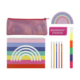 Rainbow Stationery Set