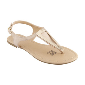 Triangle Trim Thong Sandals