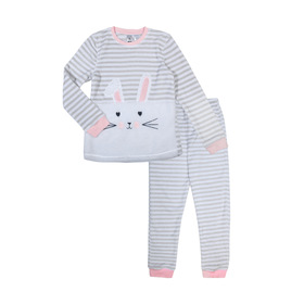 Coral Fleece Twosie Pyjama Set
