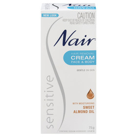 Nair 75g Sensitive Hair Removal Cream
