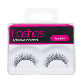 Lashes with Adhesive
