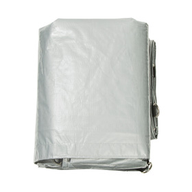 Heavy Duty Tarp - 10ft x 12ft, Silver