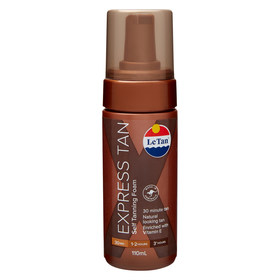 Le Tan 110ml Express Instant Bronzing Mousse