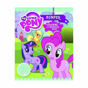 My Little Pony Bumper Colouring & Puzzle Book