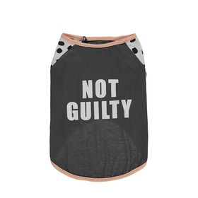 Not Guilty Dog T-Shirt - Extra Large