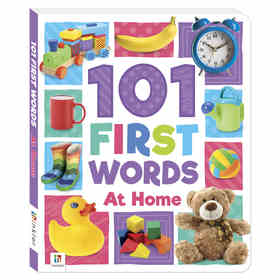 101 First Words At Home - Book