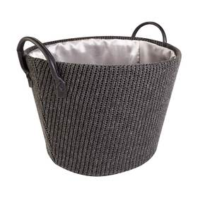 Knitted Round Basket