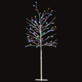 Low Voltage 1.2M Twig Tree with Multi-Coloured Lights