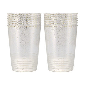 12 Pieces Glitter Cups
