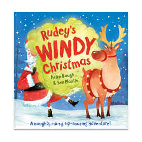 Rudey's Windy Christmas by Helen Baugh & Ben Mantle - Book