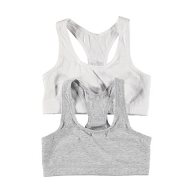 2 Pack Sports Crop Bra