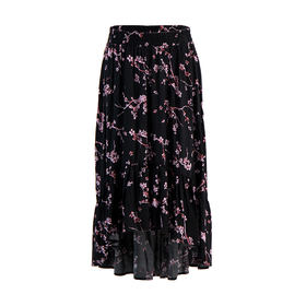 31e0a7dd082e6 Ruffle Hi-Low Skirt