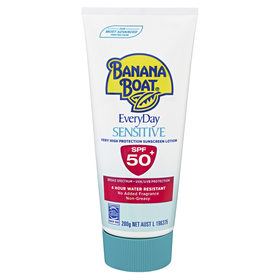 Banana Boat 200g Everyday Sensitive Sunscreen Lotion
