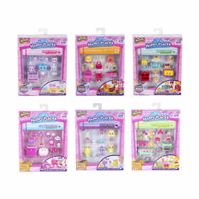 Shopkins Happy Places Decorator Pack - Assorted