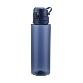 Straight Bottle with Guzzler - 1L, Navy