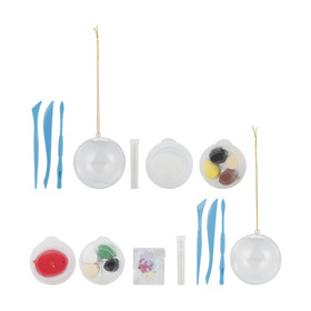 20 Piece Make Your Own Ornament - Assorted
