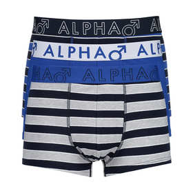 3 Pack Stripe Trunks