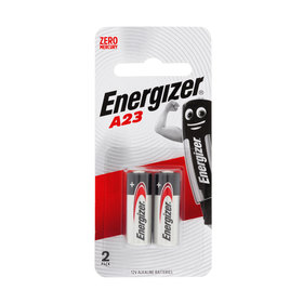 2 Pack Energizer A23 Alkaline Batteries
