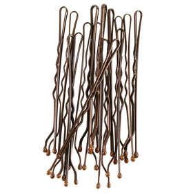30 Pack Brown Long Bobby Pins