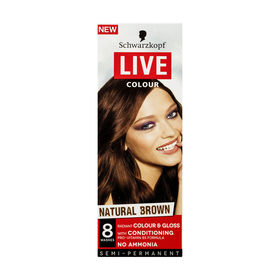 Schwarzkopf Natural Brown Live Colour