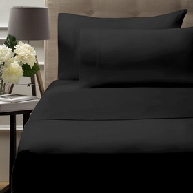 500 Thread Count Australian Grown Cotton Sheet Set - Queen Bed, Anthracite