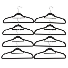 Flocked Hangers - Pack of 8