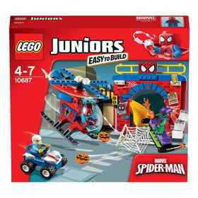 LEGO Juniors Spider Man Hideout 10687
