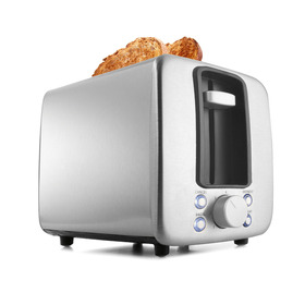 2 Slice Toaster - Silver