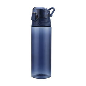 650ml Navy Straight Bottle with Guzzler