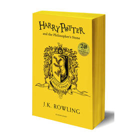 Harry Potter and the Philosopher's Stone Hufflepuff Edition Book