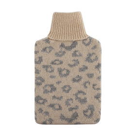 Hot Water Bottle Cover - Leopard Print