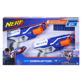 Nerf N-Strike Elite Disruptor Blasters 2 Pack