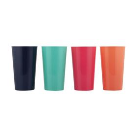 4 Plastic Tumblers