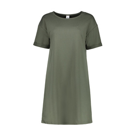 Short Sleeve Relaxed Tee Dress