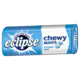 Eclipse Chewy Mints - 27g, Peppermint
