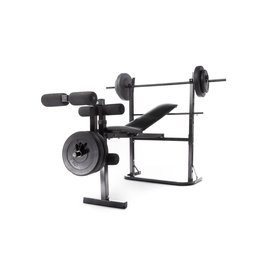 Weight Bench with Weights - Black
