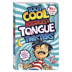 1001 Cool Riddles and Tongue Twisters - Book