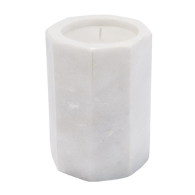 Citronella Geo Marble Candle