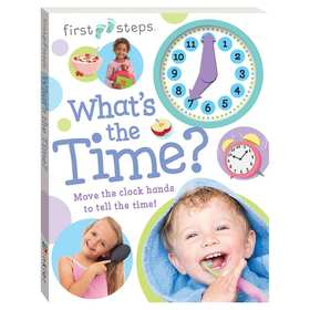 First Steps: What's the Time? - Book