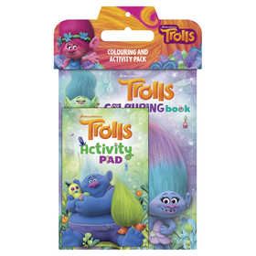 Trolls: Colouring and Activity Pack