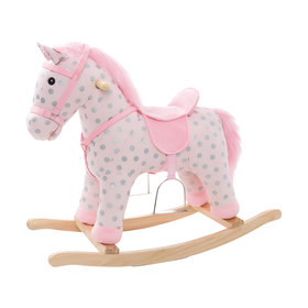 Polka Dot Rocking Horse