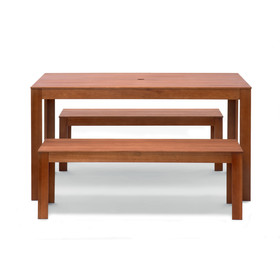 Timber Bench Set