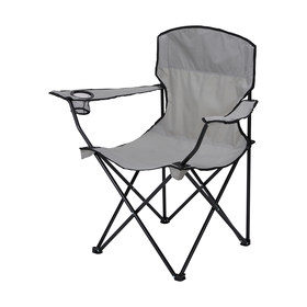 Grey Camp Chair