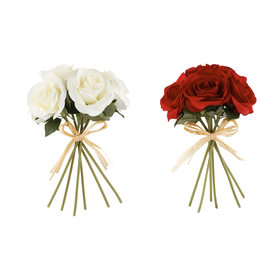 Artificial Flower Bunch Roses - Assorted