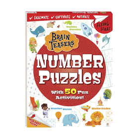 Brain Teasers: Number Puzzles - Book