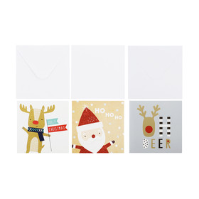10 Pack Christmas Cards - Assorted