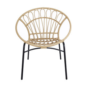 Superb Rattan Look Chair Natural