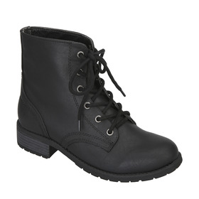 Tie Front Army Style Boots